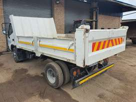 Dyna 4 ton tipper. Good condition. Currently working