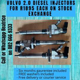 Volvo 2.0 injectors for sale