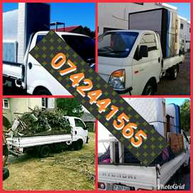 Movers bakkies and trucks for hire