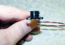 Ферритовая магнитная головка для кассетного магнитофона стирающая