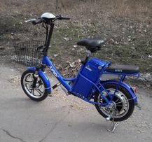 Электровелосипед в Луганске. 350 Вт с новыми аккумуляторами