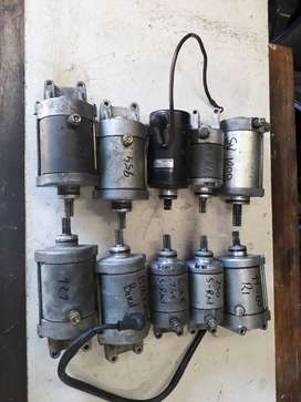 MOTORCYCLE starter motors