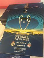 Программа финала Лиги чемпионов