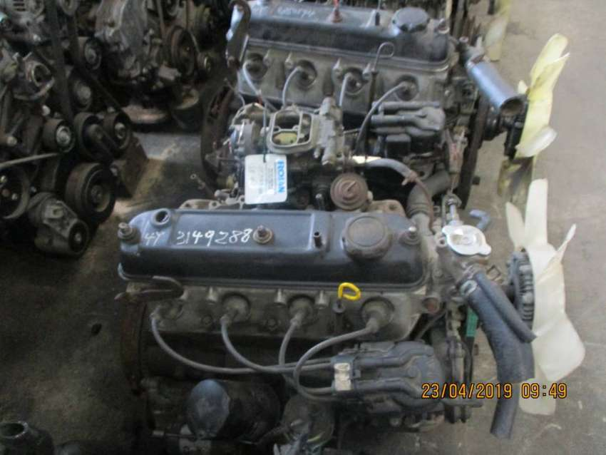 Toyota Hilux 2.0 carb 3Y low mileage import engine for sale 0