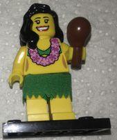 Минифигурка Танцовщица Хулы из серии 3 Lego (лего) Minifigures