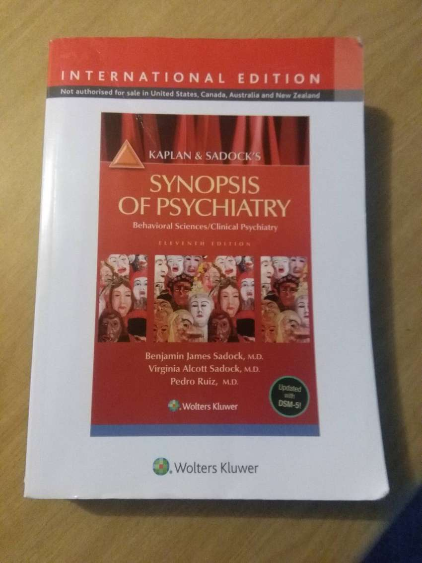 Synopsis of Psychiatry 0