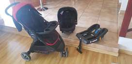 Graco travel system with base