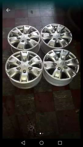 "4x 16"" Ford ranger mag wheels for 4x4"