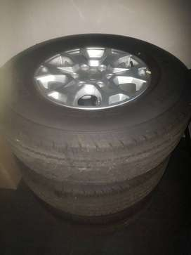 """Ford Ranger Alloy 16"""" rims and tyres"""
