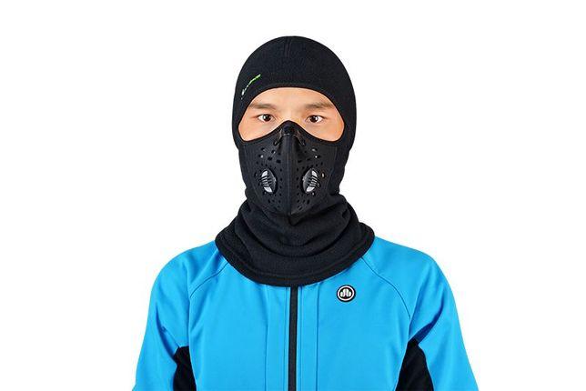 Балаклава ROCKBROS LF7127 флис баф маска бандана шарф лыжная бафф Черкассы - изображение 4