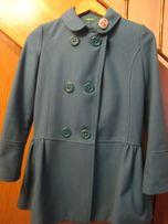 Продам кашемировое пальто на девочку 10-11 лет