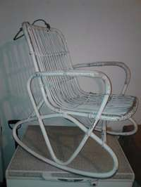 Image of Vintage rocking chair and play pram for sale