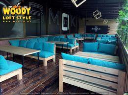LOFT Мебель из поддонов и металла Лофт столы,диваны,шкафы,полки,стулья