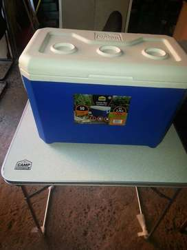Camp Master Fold Camping Table and Cooler Box