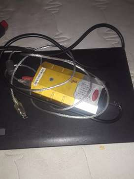 Diagnostic machine and laptop