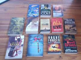 Variety of 39 x books for sale