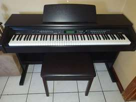 Medeli DP 330 digital piano with on stage Kb 8802r Rosewood Bench