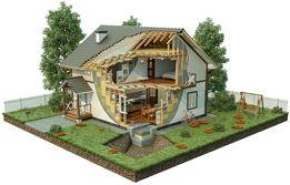 Быстровозводимые каркасные дома строительство под ключ балкон лоджия