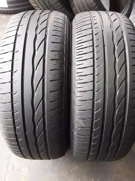 2×205/55/16 BRIDGESTONE Runflat tyres for sale it's available now