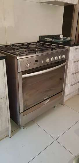 Bosch Gas Stove - Stainless steel