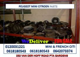 PEUGEOT MINI COOPER CITROEN PARTS FOR SALE.