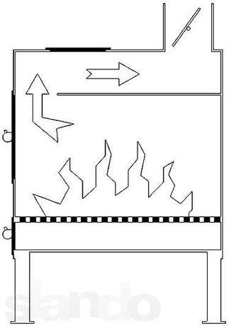 """Буржуйка """"Огонь"""" с конфоркой (сталь 4мм) для дачи. Есть в наличии Днепр - изображение 3"""