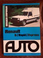 Książka Renault 5 Rapid Express STAN IDEALNY