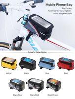 Велосипедная сумка 4.7-5.5 Roswheel велосумка на раму для велосипеда