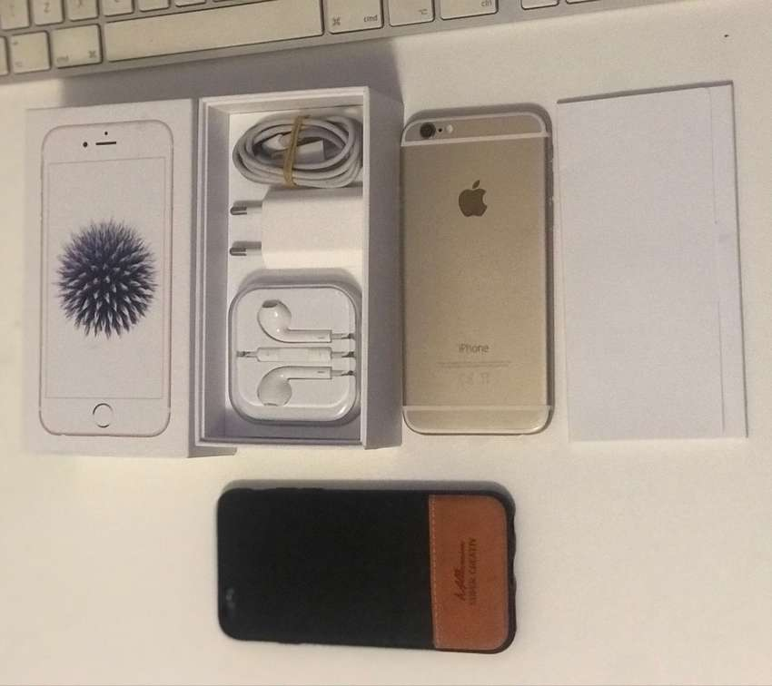 iphone 6 (Gold) 32gig 0