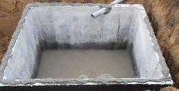 Zbiornik betonowy,szamba,Szambo betonowe na ścieki,zbiorniki 8m3
