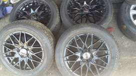 4 × 15 polo rim and tyres for sale