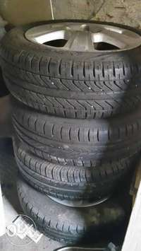Image of Corsa rims with tires