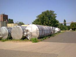 Бак нержавейка , емкость из нержавеющей стали 50м3, реактор все объемы