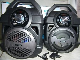 BLUETOOTH Бумбокс ATLANFA с МР3(microSD,USBфлешка) FM-радио40W