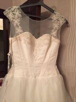 нежное свадебное платье весільна сукня