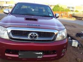 2007 Single cab Toyota Hilux, 3.0 diesel  Engine