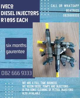 Iveco diesel injectors for sale