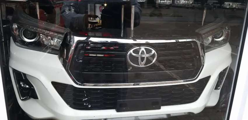 Toyota hilux  Gd6 up grade