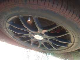 Mag rimms Spider 17 inch for Golf 5