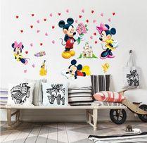 Naklejki ścienne na ścianę Myszka Mickey Minnie WS-0163
