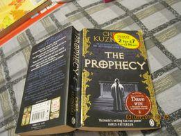 книга the prophecy chris kuzneski на английском Крис Кузнецки триллер