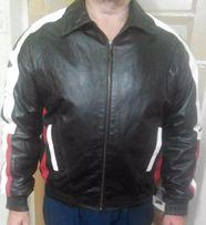 Продам новую кожаную мужскую куртку 52(ХL) размер