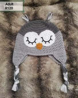 Crochet character beanies to order