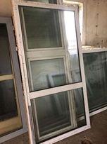 Okno przeszklenie PCV 114x226