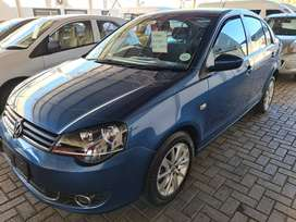 `2017 VW Polo Vivo 1.6i Comfortline-Only 135500km-R169900