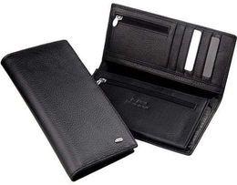 Мужской кожаный кошелек портмоне SТ натуральная кожа большой из турция