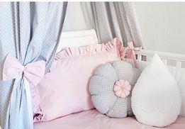 Ochraniacz do łóżeczka biały NOWY