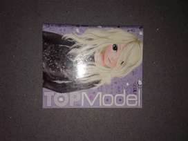top model ,book used