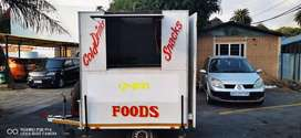 Food trailer for sale.(Everything you need to start a business)