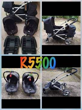 Nula Duo travel system